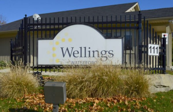 Wellings Of Waterford Sign