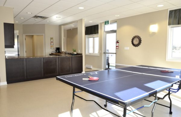 Community Clubhouse and Games, Includes Shuffleboard