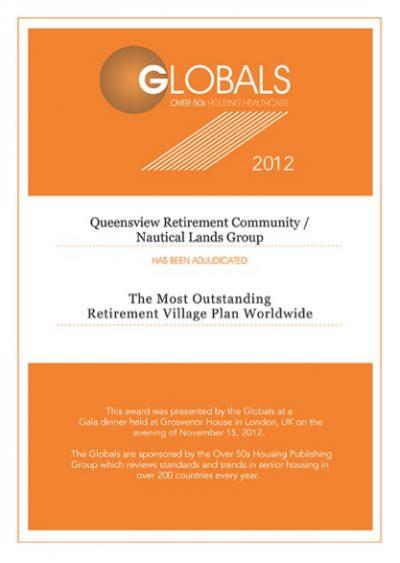 Globals Over 50s 2012 Queensview Retirement Community