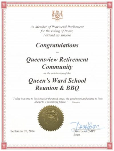 Queensview Award