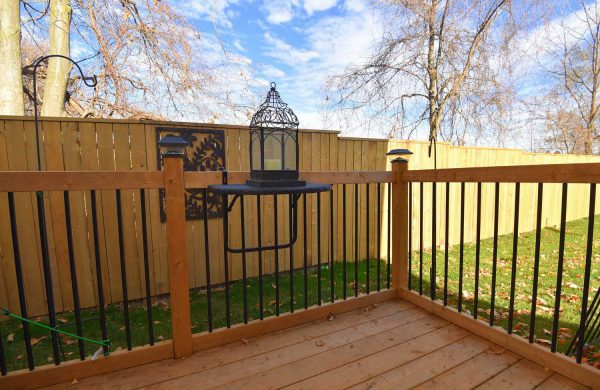 Phase 2 - The Norfolk Two-Bedroom, Back Deck